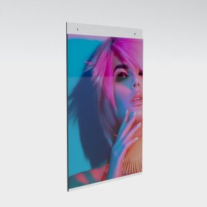 Wall Mount Chalk Boards and Poster Holders