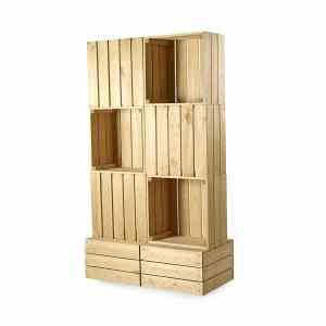 CrateWall Double Floor Display