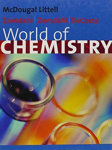 World Of Chemistry By Zumdahl 3rd Edition