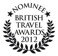 Shortlisted in the 2012 British Travel Awards