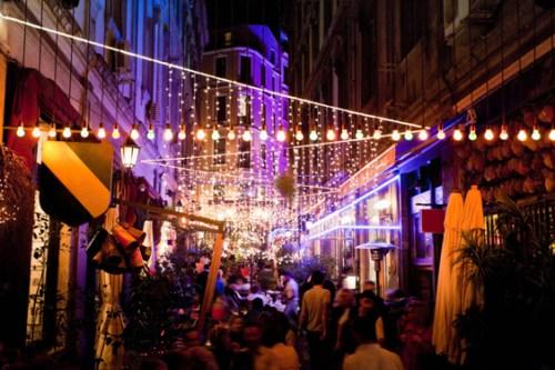 Night life of Istanbul