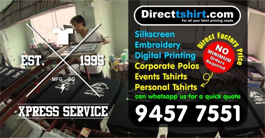 tshirt printing singapore