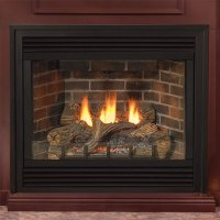 36 Tahoe Deluxe Direct Vent Fireplace (Millivolt/Pilot