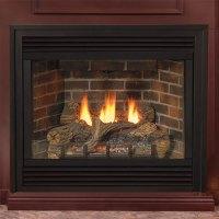 36 Tahoe Deluxe Direct Vent Fireplace (Millivolt/Pilot ...