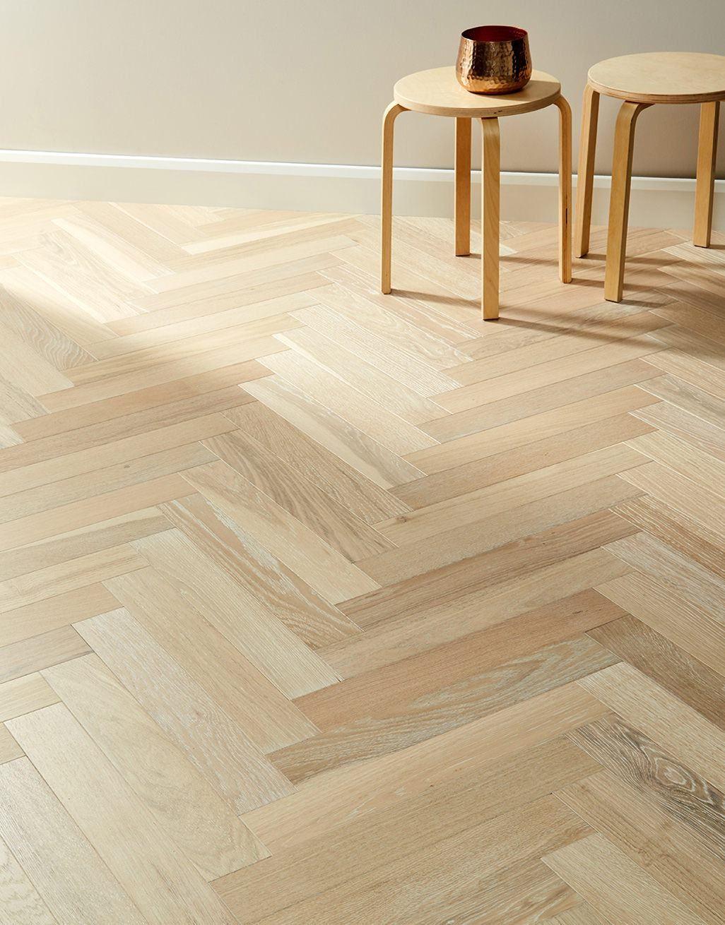 branscombe whitewashed coastal herringbone oak engineered wood flooring