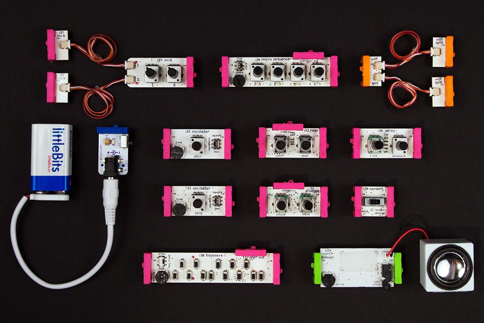 littlebits x korg synth kit direkt concept. Black Bedroom Furniture Sets. Home Design Ideas