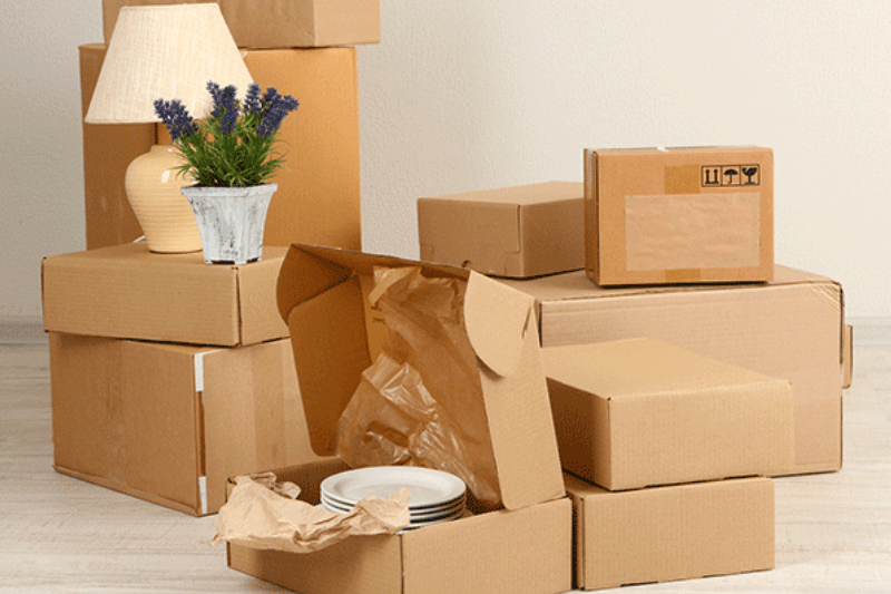 Household goods packing