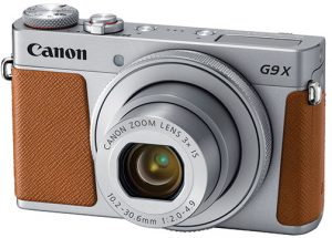 Canon-PowerShot-G9-X-Mark-II-brown-left