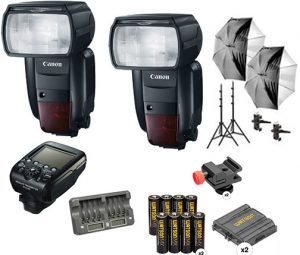 Professional lighting systems Canon-Speedlite-600EX-II-RT-Two-Flash-Kit-Rev