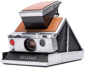 analog photography Polaroid-Originals-SX-70-silver-brown-side