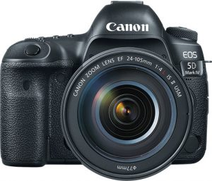 professional DSLRs Canon-EOS-5D-Mark-IV-w-EF24-105-front