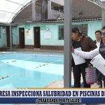 DIRESA inspecciona salubridad en piscinas de Abancay