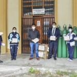 DIRESA APURIMAC ENTREGÓ 2493 MASCARILLAS FACIALES TEXTILES DE USO COMUNITARIO PARA POBLACIÓN EN SITUACIÓN DE VULNERABILIDAD DEL DISTRITO DE COCHARCAS EN CHINCHEROS