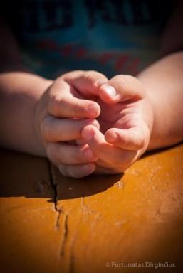 Vaiko rankos