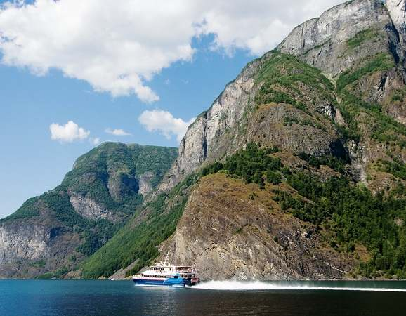 Ferry on the Fjord