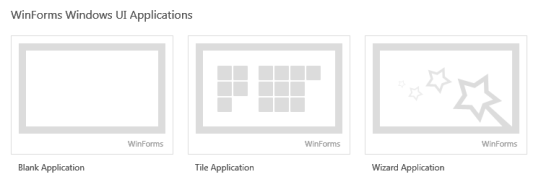 DevExpress WinForms Windows UI Applications