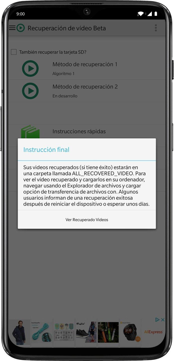 Cómo recuperar vídeos borrados del móvil: las mejores opciones