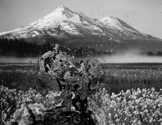 Bessma Khalaf, Mt. Shasta, 2016. Archival pigment print, 22 x 18 in. Courtesy of the artist.