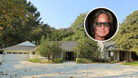Mohamed Hadid House Beverly Hills