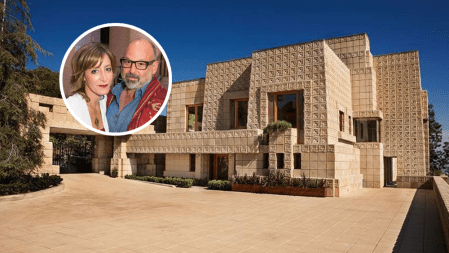 Cindy Capobianco Robert Rosenheck Ennis House Frank Lloyd Wright