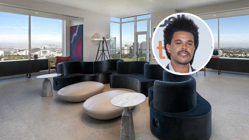 The Weeknd Drops $21 Million on L.A. Penthouse
