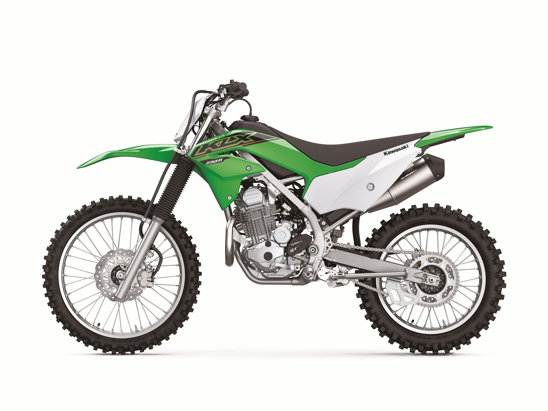 Returning 2021 Kawasaki KLX and KX Off-Road Models