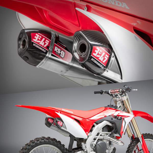 yoshimura rs9 stainless system honda crf 250 2018 current