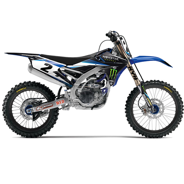Factory Effex Yamaha 2016 Monster Graphics Kit