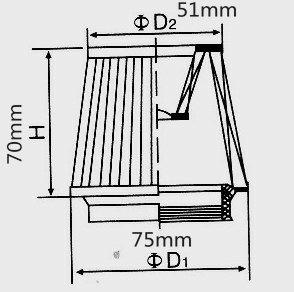 42mm Air Filter