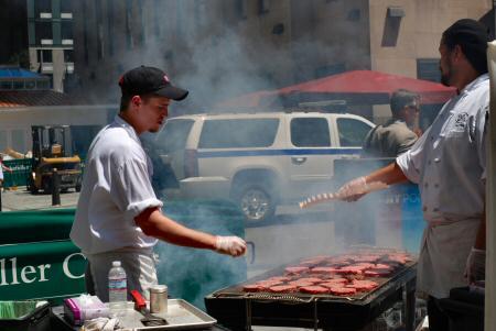 Rockefeller Center Summer Restaurant Days in July