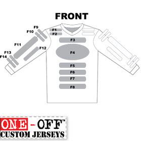 DIRT DIGITS Signature Series ONE-OFFS Custom Made Jersey
