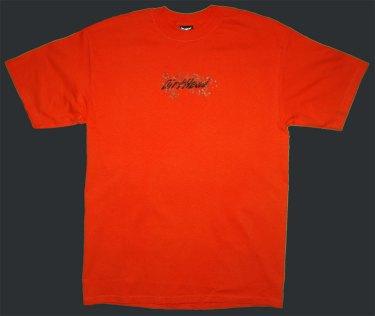 Splat Team Colors Orange Tee Front