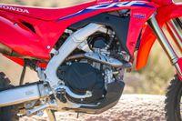 Detalhes do motor honda crf450rl 2021