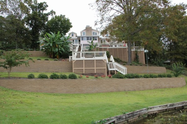 landscaping retaining walls paver