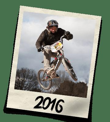 Dirtworks BMX's Phil Hudu Charnley Polaroid - 2016