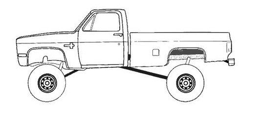 Chevy Truck 4WD LS Swap Conversion