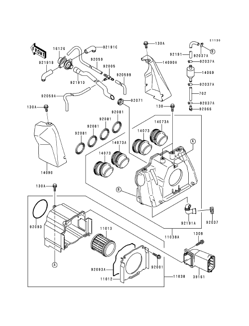 kawasaki three wheeler wiring diagram
