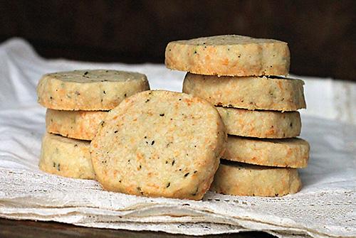 Savory Shortbread Cookies Dirty Gourmet