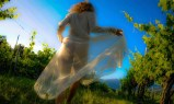 The Priestess in the vineyard
