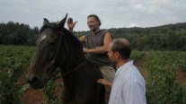 Barzaghi greets Borgo in the vineyards