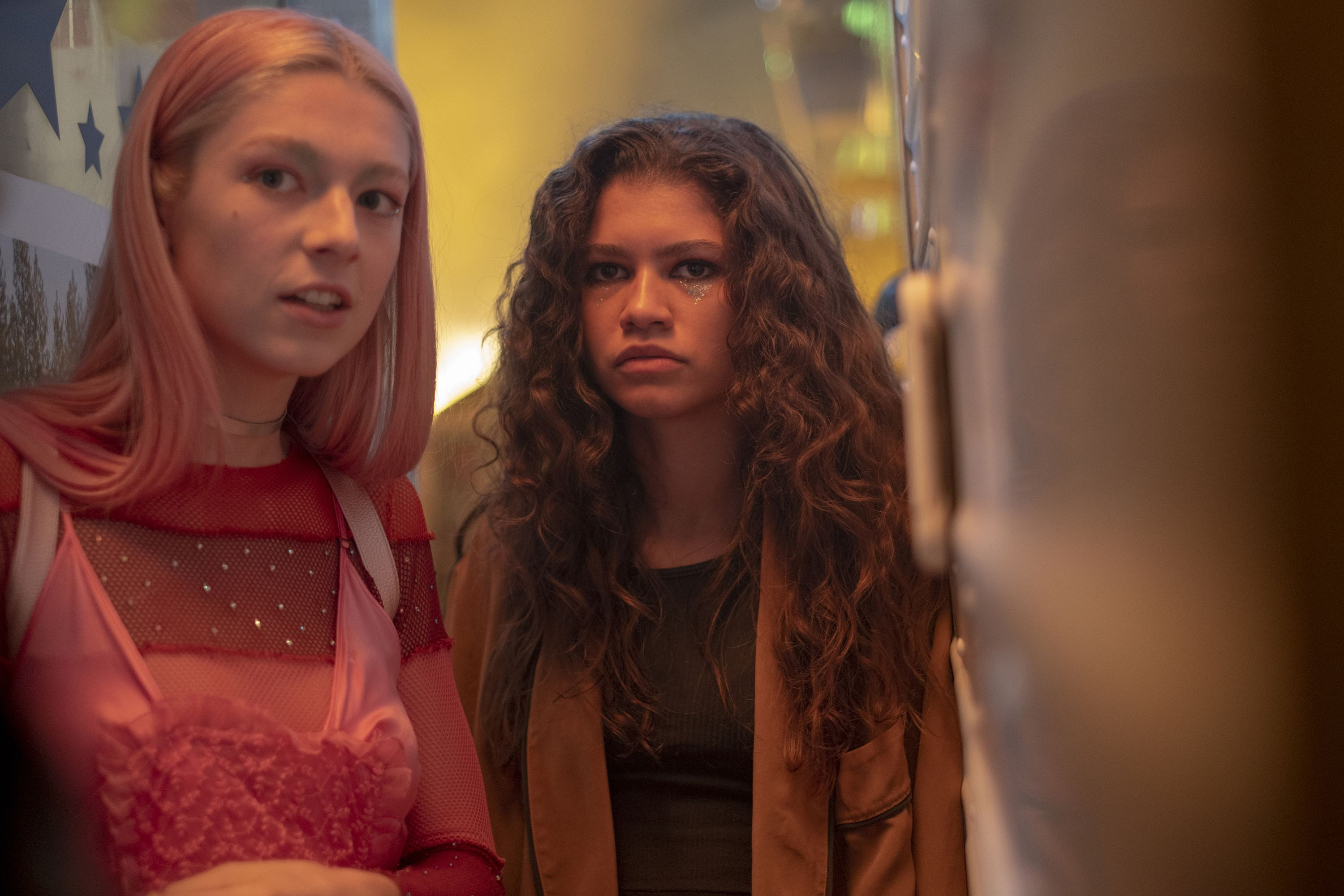 Rue and Jules In Teen Show Euphoria