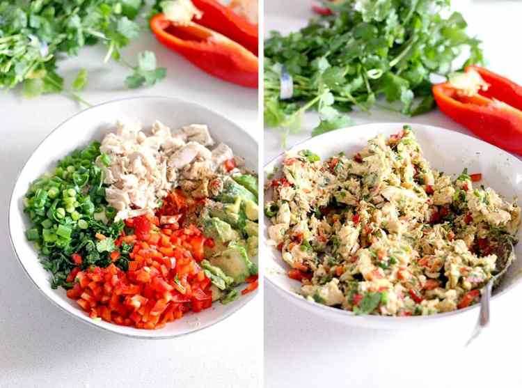 fiesta chicken salad