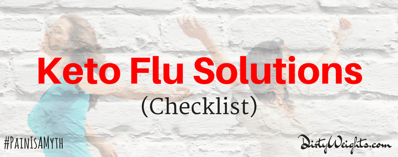 Keto Flu Solutions