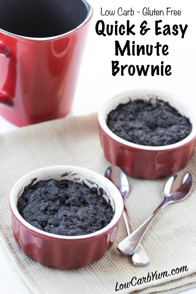 low carb brownie