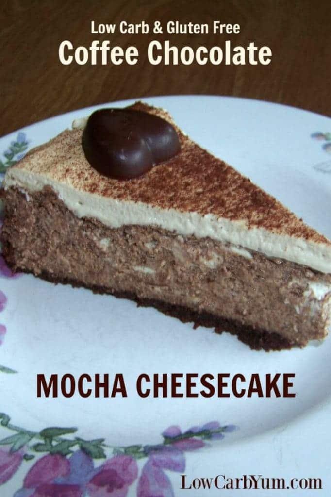 Coffee Chocolate Mocha Cheesecake