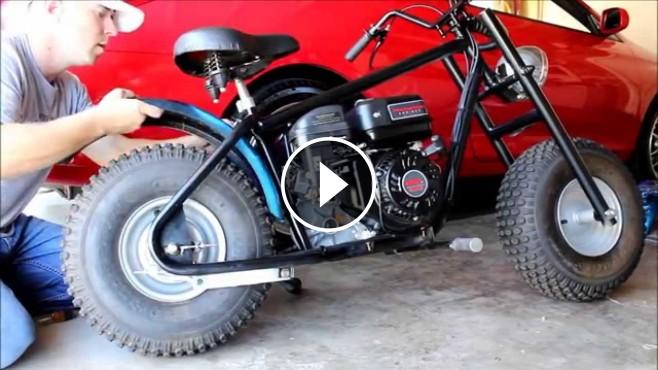 Make Your Own Bike Custom Baja Mini Bike Project 212cc