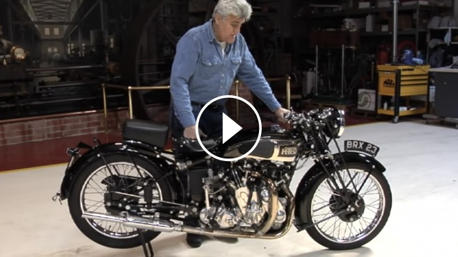 Jay Leno S Garage Presents 1939 Vincent Hrd Series A