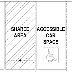 Disabled Carpark Cad Details AS2890.6 Off-street parking
