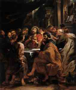 Last Supper - Peter Paul Rubens (c.1631)