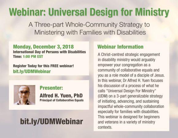 Universal Design for Ministry Webinar